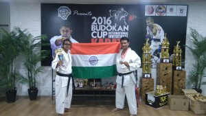 Team SIKF at 2016 Budokan Cup Karate Tournament at Dubai
